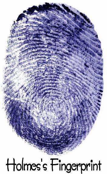 Sherlock Holmes fingerprint